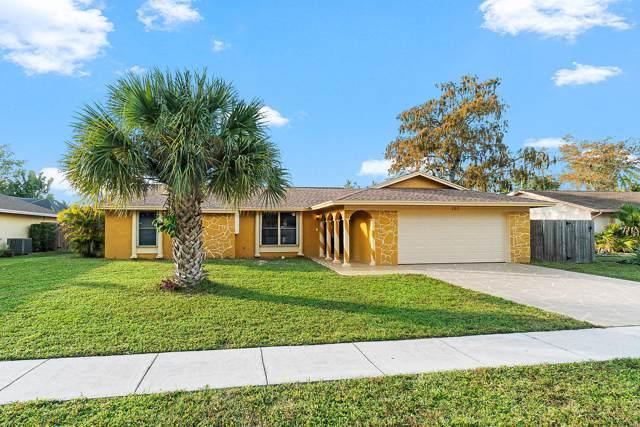 107 Cambridge Lane, Royal Palm Beach, FL 33411 (MLS #RX-10584471) :: Berkshire Hathaway HomeServices EWM Realty