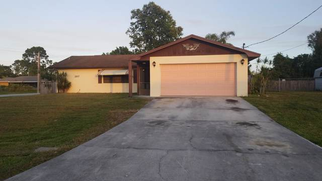 397 NW Curtis Street, Port Saint Lucie, FL 34983 (MLS #RX-10584552) :: Berkshire Hathaway HomeServices EWM Realty
