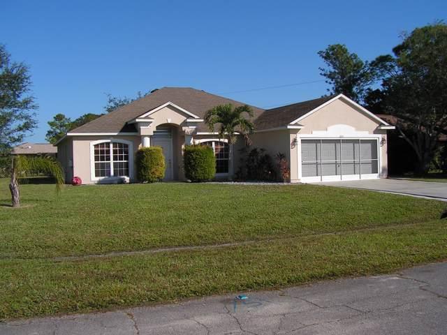 255 SW Langfield Avenue, Port Saint Lucie, FL 34984 (MLS #RX-10584561) :: Berkshire Hathaway HomeServices EWM Realty