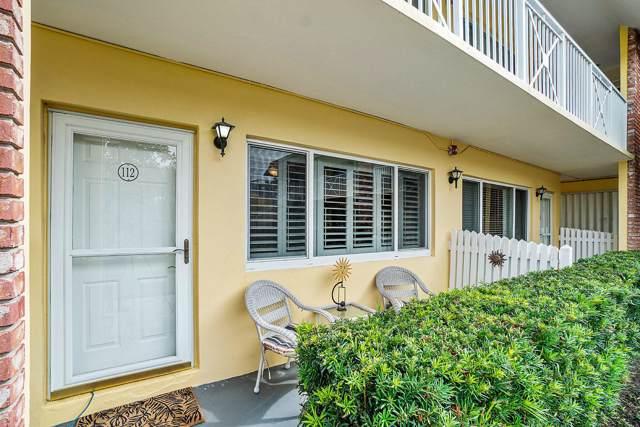 1001 NE 8th Avenue #112, Delray Beach, FL 33483 (#RX-10584671) :: Ryan Jennings Group
