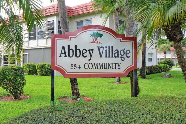 33 Abbey Lane #105, Delray Beach, FL 33446 (MLS #RX-10584793) :: Castelli Real Estate Services