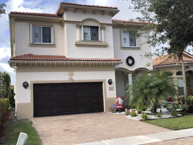 601 Gazetta Way, West Palm Beach, FL 33413 (#RX-10585040) :: Ryan Jennings Group