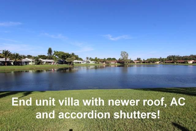 13 Mayfair Lane ., Boynton Beach, FL 33426 (MLS #RX-10585103) :: Berkshire Hathaway HomeServices EWM Realty