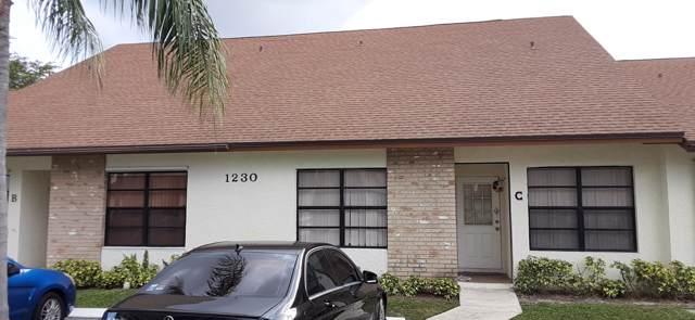 1230 Parkside Green Drive C, Greenacres, FL 33415 (#RX-10585394) :: Ryan Jennings Group