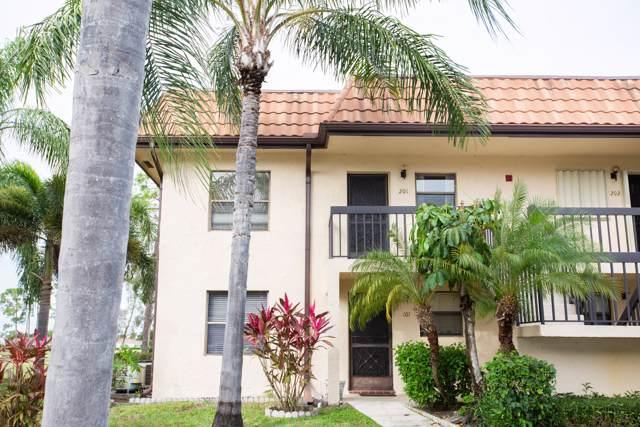 7149 Golf Colony Court #201, Lake Worth, FL 33467 (MLS #RX-10585400) :: The Paiz Group