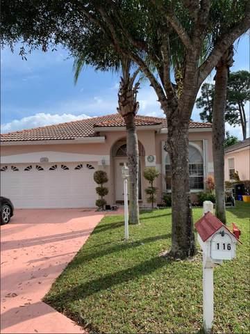 116 Woodlake Circle, Greenacres, FL 33463 (MLS #RX-10585416) :: The Paiz Group