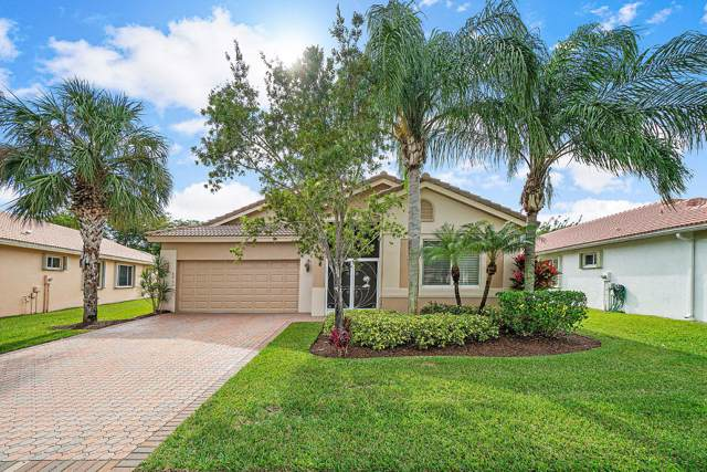8962 Agliana Circle, Boynton Beach, FL 33472 (MLS #RX-10585450) :: Laurie Finkelstein Reader Team
