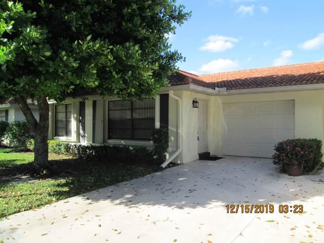 4595 Wildwood Tree Lane A, Boynton Beach, FL 33436 (#RX-10585813) :: Ryan Jennings Group