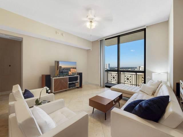 701 S Olive Avenue #1618, West Palm Beach, FL 33401 (MLS #RX-10585913) :: Berkshire Hathaway HomeServices EWM Realty