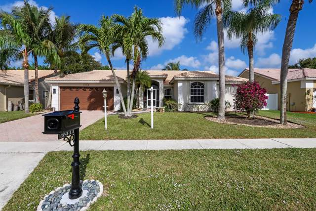 9411 Lake Serena Drive, Boca Raton, FL 33496 (#RX-10585945) :: Ryan Jennings Group