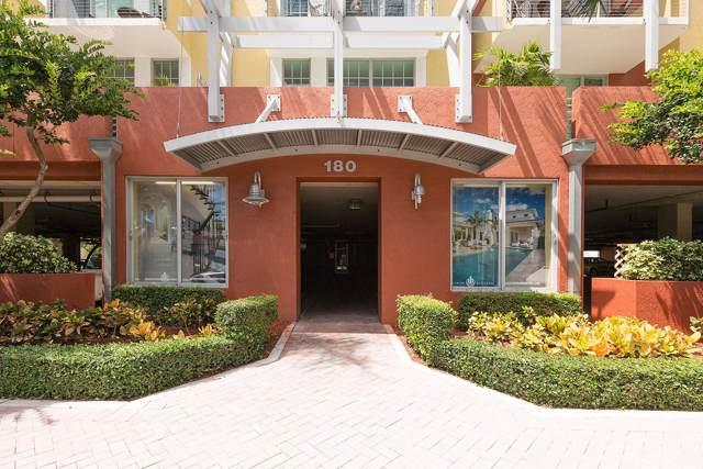 180 NE 4th Avenue #402, Delray Beach, FL 33483 (#RX-10586003) :: Ryan Jennings Group