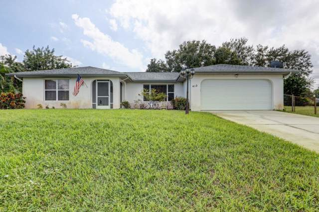 412 SW Lakota Avenue, Port Saint Lucie, FL 34953 (#RX-10586297) :: Ryan Jennings Group