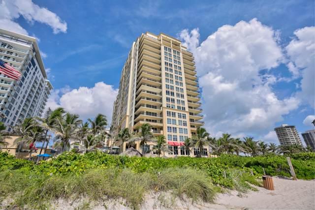 3800 N Ocean Drive #416, Riviera Beach, FL 33404 (#RX-10586415) :: Ryan Jennings Group