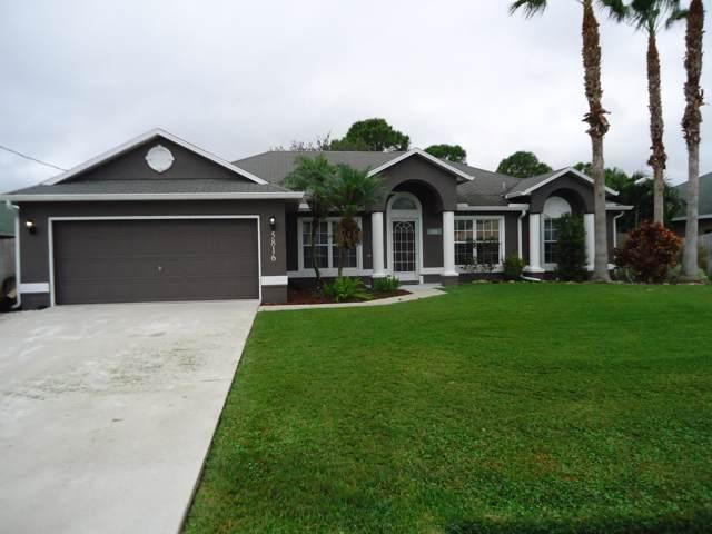 5816 NW Burney Street, Port Saint Lucie, FL 34986 (#RX-10586683) :: Ryan Jennings Group