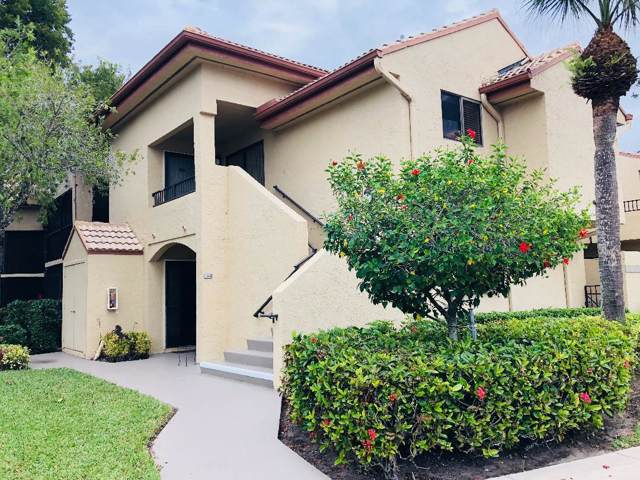 7563 Glendevon Lane #1305, Delray Beach, FL 33446 (MLS #RX-10587333) :: The Paiz Group