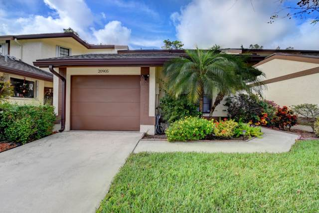20905 Boca Ridge Dr W, Boca Raton, FL 33428 (#RX-10587503) :: Ryan Jennings Group