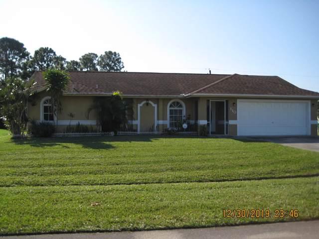 110 SW Ray Avenue, Port Saint Lucie, FL 34953 (MLS #RX-10588326) :: Berkshire Hathaway HomeServices EWM Realty