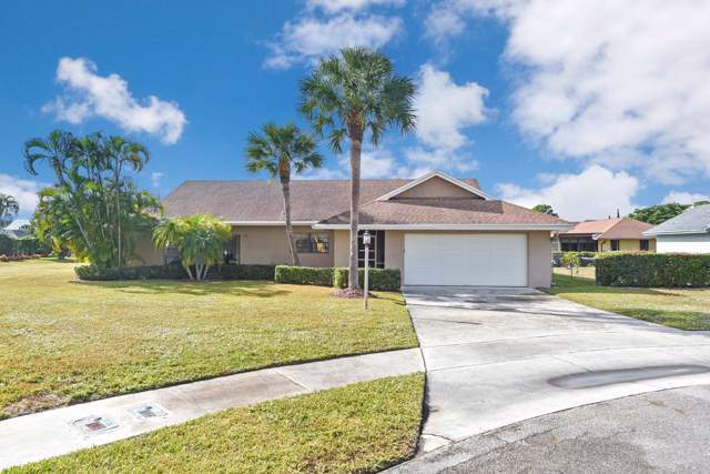 8220 Whitewood Cove East, Lake Worth, FL 33467 (#RX-10588364) :: Ryan Jennings Group