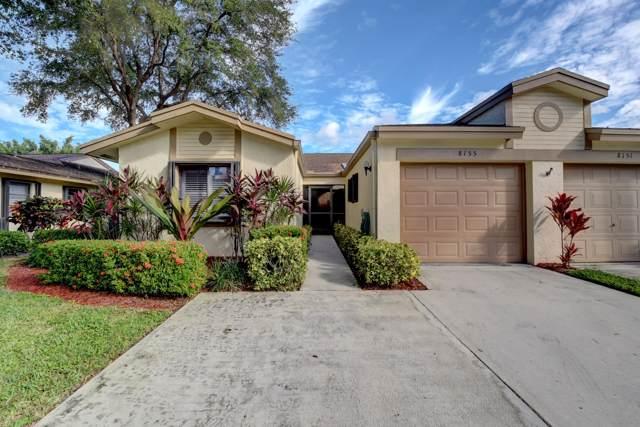 8155 Whispering Palm Drive, Boca Raton, FL 33496 (MLS #RX-10588774) :: Berkshire Hathaway HomeServices EWM Realty