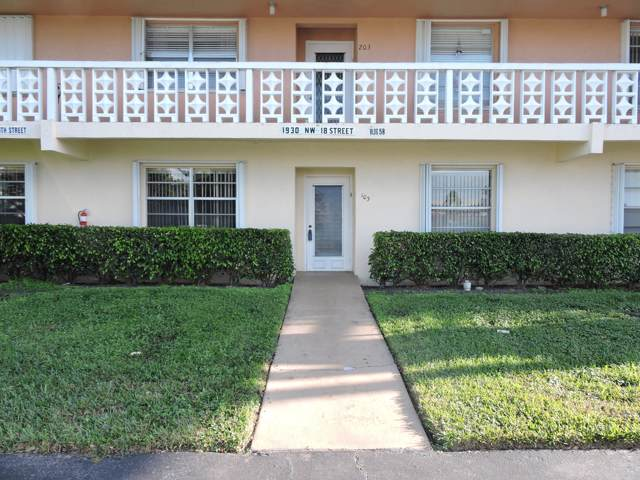 1930 NW 18th Street #103, Delray Beach, FL 33445 (#RX-10589319) :: Ryan Jennings Group