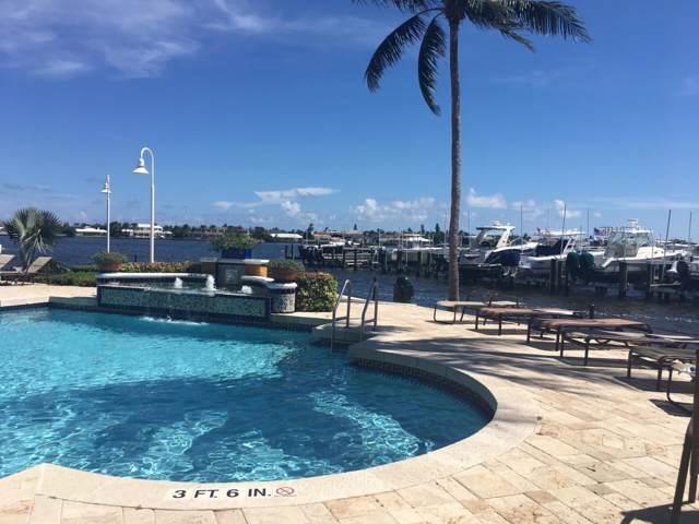180 Yacht Club Way #307, Hypoluxo, FL 33462 (MLS #RX-10590965) :: Castelli Real Estate Services
