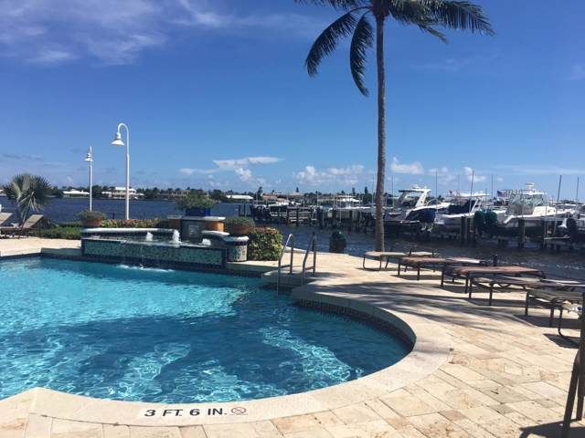 160 Yacht Club Way #112, Hypoluxo, FL 33462 (MLS #RX-10590994) :: Castelli Real Estate Services
