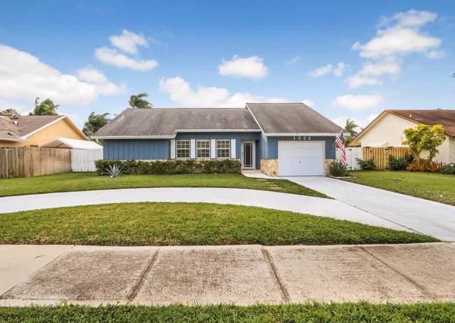 1522 Fulmar Drive, Delray Beach, FL 33444 (#RX-10591412) :: Ryan Jennings Group