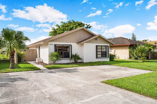 1553 Ferngran Avenue, West Palm Beach, FL 33415 (#RX-10591513) :: Ryan Jennings Group