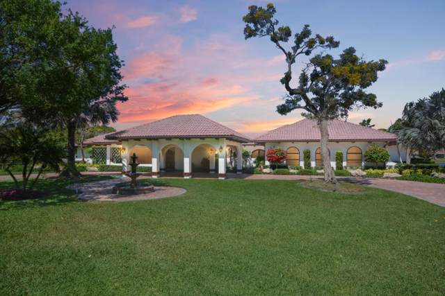 10465 El Paraiso Place, Delray Beach, FL 33446 (MLS #RX-10591556) :: Berkshire Hathaway HomeServices EWM Realty