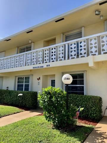 1280 NW 20th Avenue #103, Delray Beach, FL 33445 (#RX-10591797) :: Ryan Jennings Group