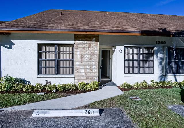 1260 Parkside Green Drive C, Greenacres, FL 33415 (#RX-10592160) :: Ryan Jennings Group