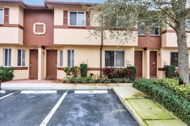1905 Hibiscus Lane, Riviera Beach, FL 33404 (#RX-10592364) :: Ryan Jennings Group