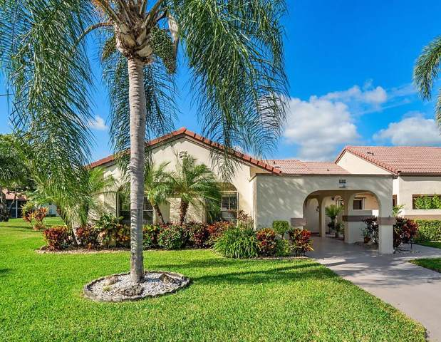 5526 Parkwalk Circle E, Boynton Beach, FL 33472 (#RX-10592536) :: Ryan Jennings Group