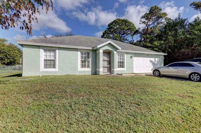 691 SE Chapman Avenue, Port Saint Lucie, FL 34984 (MLS #RX-10592708) :: Castelli Real Estate Services