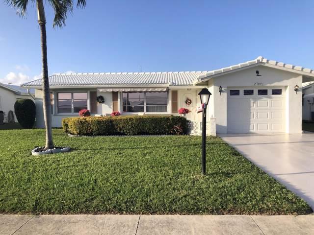 2387 SW Congress Boulevard, Boynton Beach, FL 33426 (#RX-10592840) :: The Reynolds Team/ONE Sotheby's International Realty