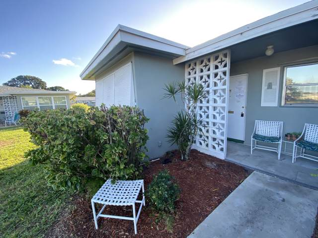 812 High Point Drive W A, Delray Beach, FL 33445 (#RX-10592874) :: Ryan Jennings Group