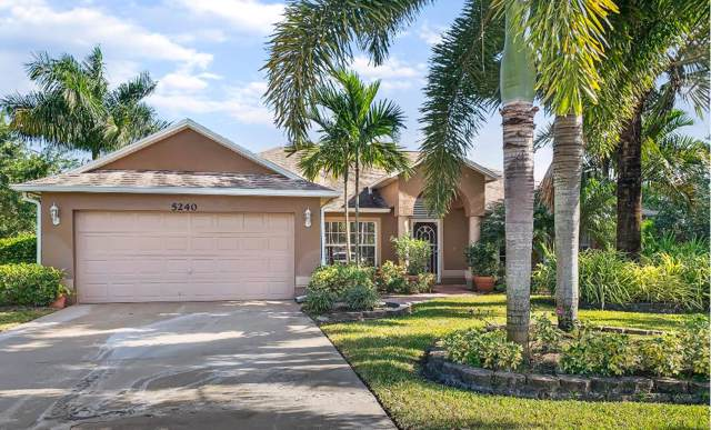 5240 NW Reba Circle, Port Saint Lucie, FL 34986 (MLS #RX-10592933) :: Laurie Finkelstein Reader Team