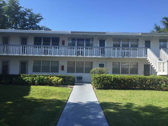 172 Andover G, West Palm Beach, FL 33417 (MLS #RX-10592983) :: Berkshire Hathaway HomeServices EWM Realty