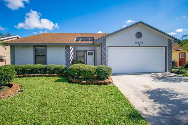 6678 Lawrence Woods Court, Lake Worth, FL 33462 (#RX-10593151) :: Real Estate Authority