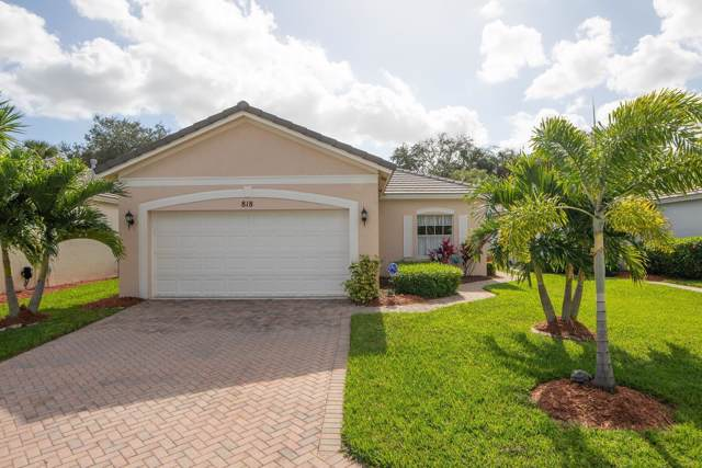 818 SW Rocky Bayou Terrace, Port Saint Lucie, FL 34986 (#RX-10593257) :: Ryan Jennings Group
