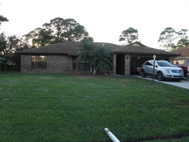 1418 SE Kirke Lane, Port Saint Lucie, FL 34983 (MLS #RX-10593281) :: Berkshire Hathaway HomeServices EWM Realty
