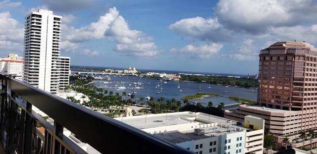 801 S Olive Avenue #1406, West Palm Beach, FL 33401 (#RX-10593329) :: Real Estate Authority