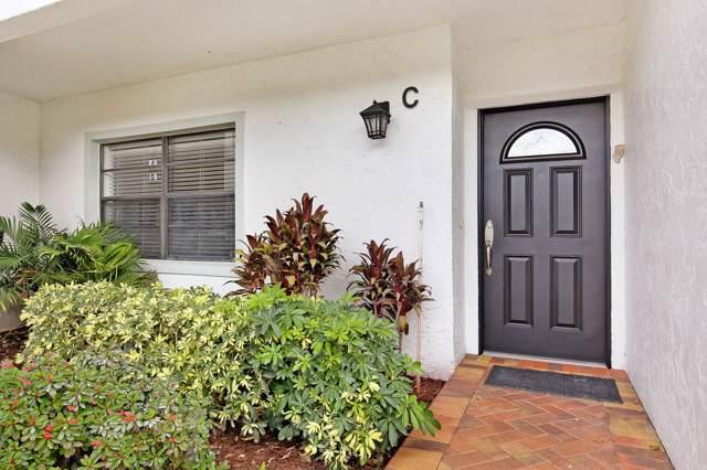 24 Stratford Drive C, Boynton Beach, FL 33436 (MLS #RX-10593422) :: The Paiz Group
