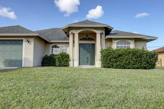 111 SW Milburn Circle, Port Saint Lucie, FL 34953 (MLS #RX-10593470) :: Laurie Finkelstein Reader Team