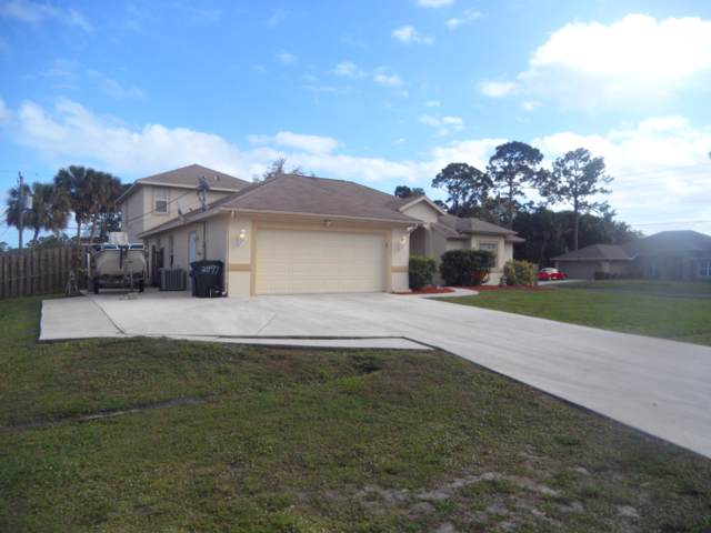2497 SW Roney Road, Port Saint Lucie, FL 34953 (MLS #RX-10593502) :: Laurie Finkelstein Reader Team
