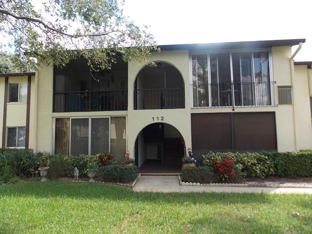 112 Lake Pine Circle B-2, Greenacres, FL 33463 (MLS #RX-10593511) :: The Paiz Group