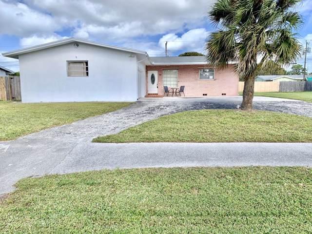 4125 Waterway Drive, Lake Worth, FL 33461 (MLS #RX-10593512) :: The Paiz Group