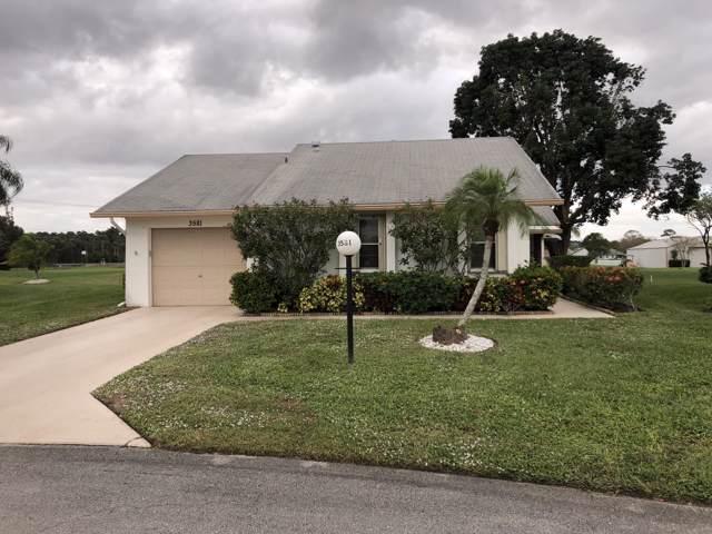 3581 Amalfi Drive, West Palm Beach, FL 33417 (#RX-10593626) :: The Reynolds Team/ONE Sotheby's International Realty