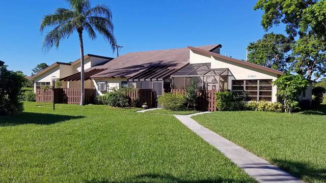 13965 Nesting Way C, Delray Beach, FL 33484 (MLS #RX-10593669) :: Laurie Finkelstein Reader Team