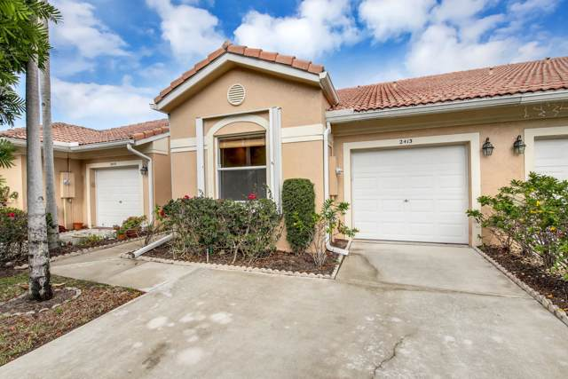 2413 N Coral Trace Circle N, Delray Beach, FL 33445 (#RX-10593675) :: Real Estate Authority